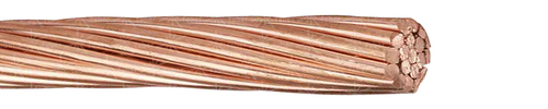 Copper rope Cu bare, soft annealed, compacted
