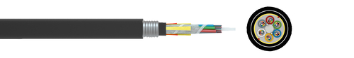 Optical fibre cables - standard - outdoor with metallic rodent protection