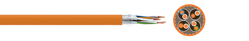 LAN cable FABER® dataline 1000 STP (S-FTP)