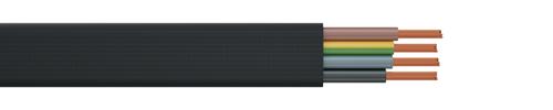PVC flat cable H07VVH6-F