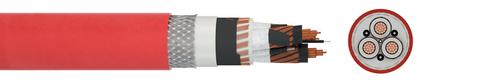 Leitungstrosse URSUS® MT TUNNEL V ATOX PLUS (N)3GHSSHCH