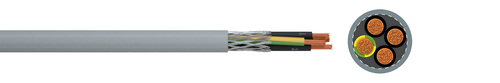 Lightweight screened control cable YSLCY-JZ/-OZ