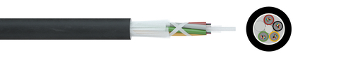 Indoor fibre optic cable I-(ZN)H 1xN G.657A1 250µ (ZT)