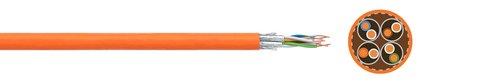 LAN cable FABER® dataline 1000 STP (S-FTP)