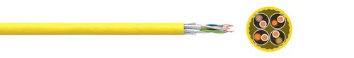 LAN cable FABER® dataline 1300 STP (S-FTP) AWG 22