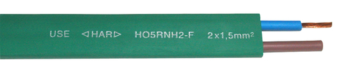 Flat light-chain cable H05RNH2-F