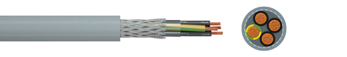 Screened FRNC control cable HSLCH-JZ/-OZ/-JB