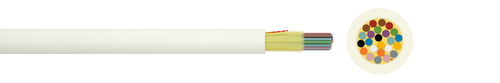 Indoor fibre optic cable I-V(ZN)H 1xN G.657A1 900µ