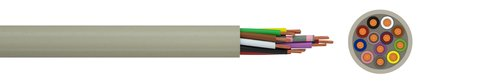 Electronic cable LiYY
