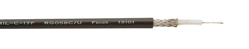 Coaxial cable RG 58 C/U