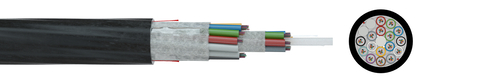 Fibre optic cable A-DQ2Y 1,5 kN G.652D (ZT)