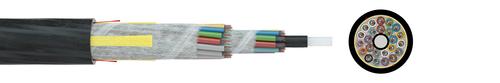 Fibre optic cable A-DQ(ZN)2Y 2,0 kN G.652D (ZT)