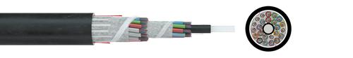 Fibre optic cable A/I-DQ(ZN)BH nx12 G.652D (ZT)