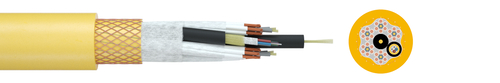 Vertical reeling cable TRATOSLIGHT-VRDB-FO®