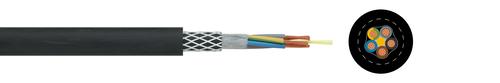 Reeling cable PRYSMIAN Trommelflex® PUR-HF
