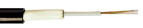 FABER® LWL-Standard-Außenkabel A-DQ(ZN)B2Y ... 2,2 kN (Zentralader)
