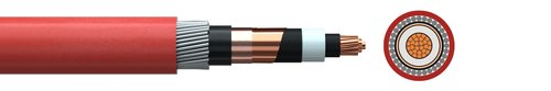 Medium voltage cable Cu/XLPE/CTS/(SWA/AWA)/PVC