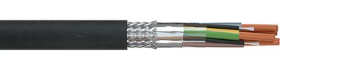 EMV-Motoranschlussleitung 2XSL(St)CHv DB