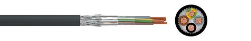 EMC connecting cable 2YSL(St)CYv