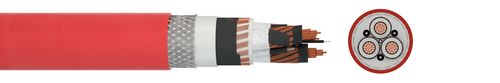 Flexible medium voltage cable URSUS® MT TUNNEL V ATOX PLUS (N)3GHSSHCH