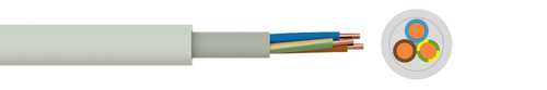 Sheathed building wire NYM-J/-O