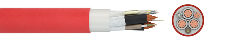 Flexible medium voltage cable PROTOLON(SC)® (N)TSCGEWOEU LWL WR