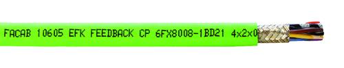 Schleppkettenleitung FABER® EFK Feedback-CP