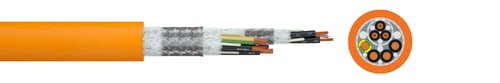 Schleppkettenleitung Faber® Servo-CP SEW EFK Move
