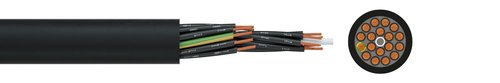 Harmonised control cable H05VV5-F