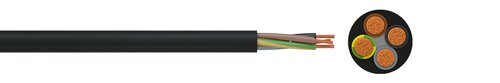 PVC insulated cord H05VV-F
