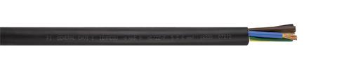 Halogenfreie Gummischlauchleitung H07ZZ-F