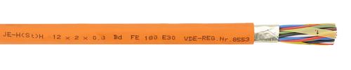 Installationsleitung mit Funktionserhalt JE-H(St)H ... Bd  FE180/E30