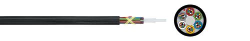 LWL-Mikro-Kabel 10/6 A-DQ(ZN)2Y  nx12 (HT)