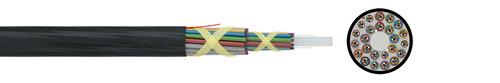 LWL-Mini-Kabel A-DQ2Y Nx12