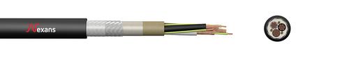 Nexans Rheyfestoon® - geschirmte Gummileitung für Leitungswagen (N)3GRDCG5G
