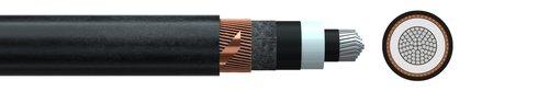 Medium voltage cable (N)A2XSH