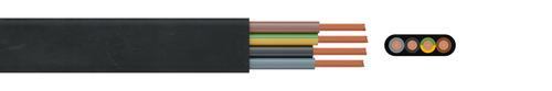 Gummi-Flachleitung NGFLGÖU  0,6/1 kV