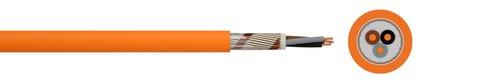 Halogenfreies Starkstromkabel (N)HXCH FE180/E30 plus