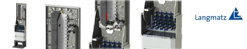 Glasfaser-Netzwerkverteiler  NVT48 - MEDIUM -
