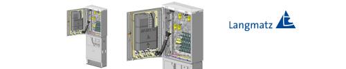 Glasfaser-Netzwerkverteiler  NVT96 - LARGE -