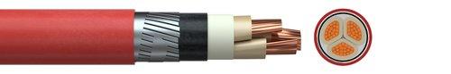 Power cable NYFGY 1-6 kV