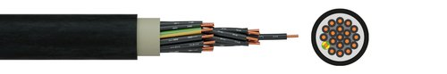 Power cable NYY-JZ/-OZ