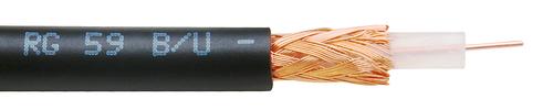 Coaxial cable RG 59 B/U