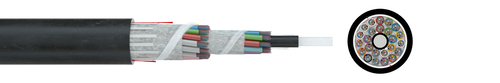 LWL-Standardkabel A/I-DQ(ZN)BH nx12