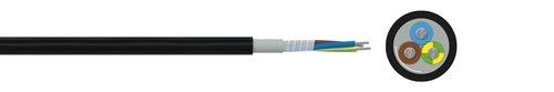 Halogenfreie Steuerleitung mit erhöhter Temperaturbeständigkeit FABER® THERM 145 (multicore)