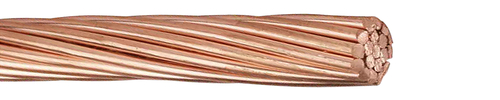 KUPFERSEIL, HART, BLANK 35 QMM (7X2,5MM)