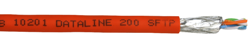 FABER dataline 200 SFTP 4X2X AWG 24 FRNC OR