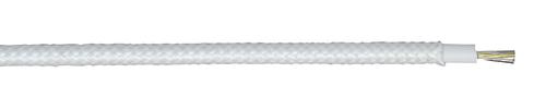 H05SJ-K 01X0,75 SW Silikon/Glasseide