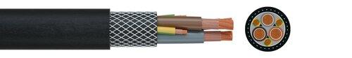 03X185 + 3X95/3  0.6/1 kV  BK