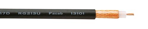 RG 213/U 50 ohm BK halogen-free